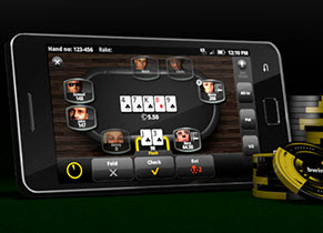 Real money Android poker app from Ongame