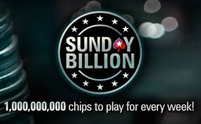 Sunday Billion tournament